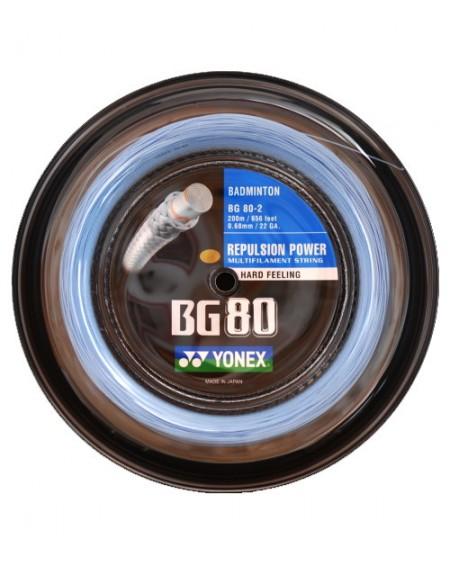 Bobine Yonex BG 80 Bleu Ciel (200m)