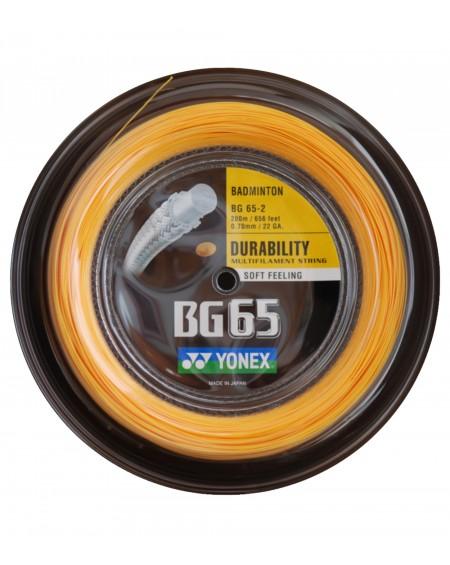 Bobine Yonex BG 65 Orange (200 m)