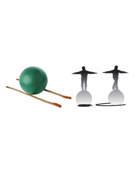 Chemin de corde pour boule d'équilibre