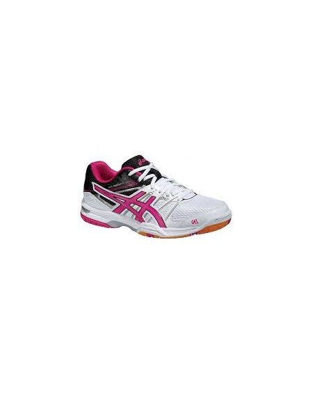 Asics Gel Rocket 7 Lady Blanc/Rose Taille 41.5