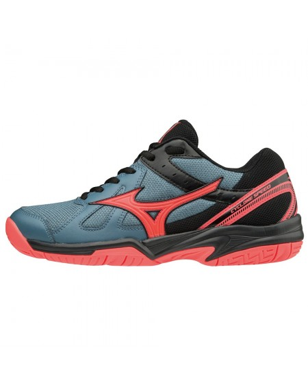 MIZUNO CYCLONE SPEED LADY GRIS/CORAL