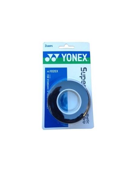 YONEX SURGRIP AC102EX ( x3 )  - NOIR
