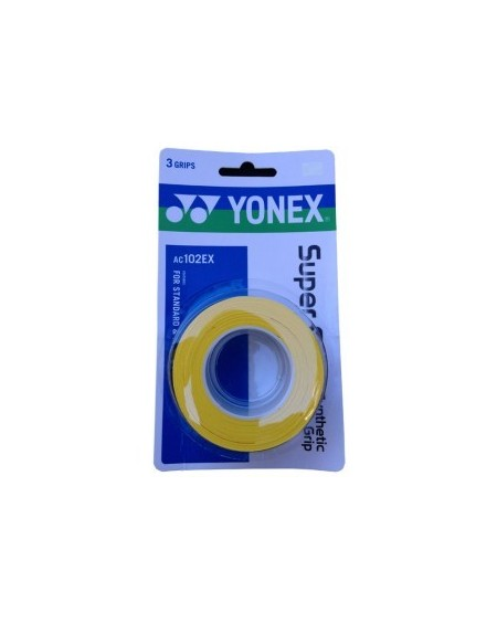 YONEX SURGRIP AC102EX ( x3 )  - JAUNE