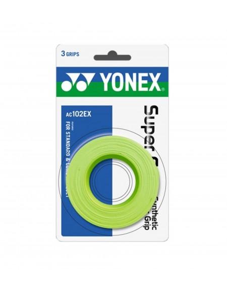 YONEX SURGRIP AC102EX ( x3 )  - VERT