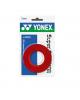 YONEX SURGRIP AC102EX ( x3 )  - ROUGE