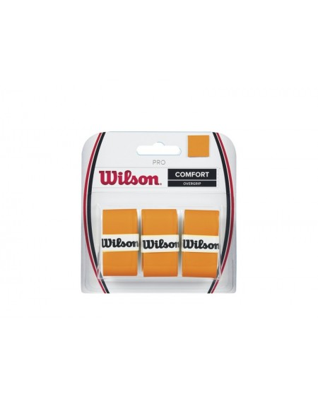 WILSON PRO OVERGRIP ( x3 ) - ORANGE