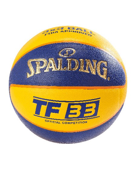 BALLON DE BASKET SPALDING TF 33 COMPETITION