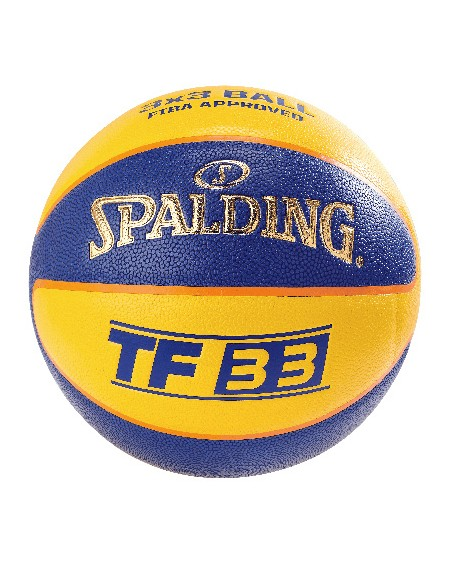 BALLON DE BASKET SPALDING TF 33 OUTDOOR