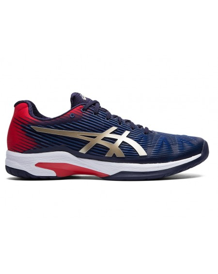 ASICS SOLUTION SPEED FF MEN MARINE/ROUGE