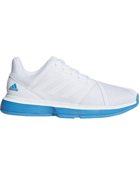 ADIDAS COURT JAM MEN BLANC/CIEL