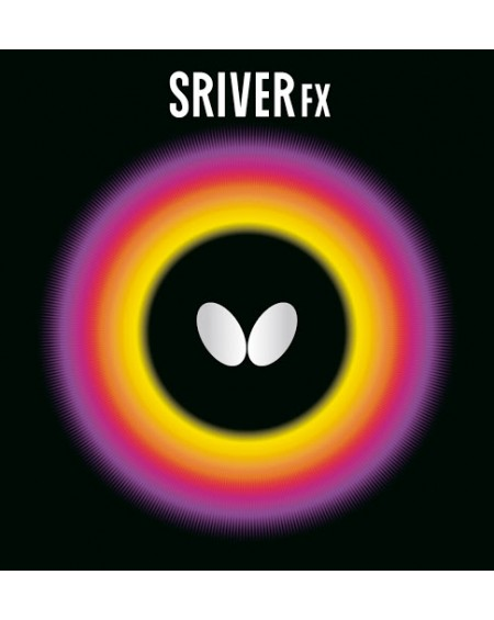 BUTTERFLY REVETEMENT SRIVER 05 FX ROUGE