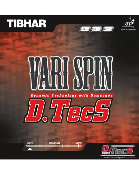 TIBHAR REVETEMENT VARI SPIN D-TECS ROUGE