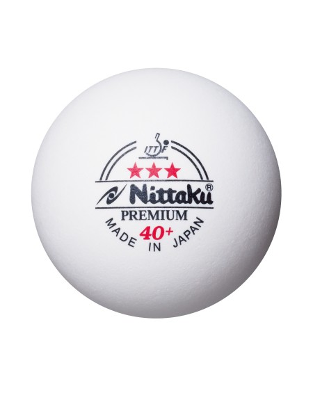 NITTAKU BALLE COMPETITION PREMIUM 40+ *** ( x3 )