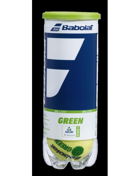 BABOLAT BALLES GREEN ( x3 )