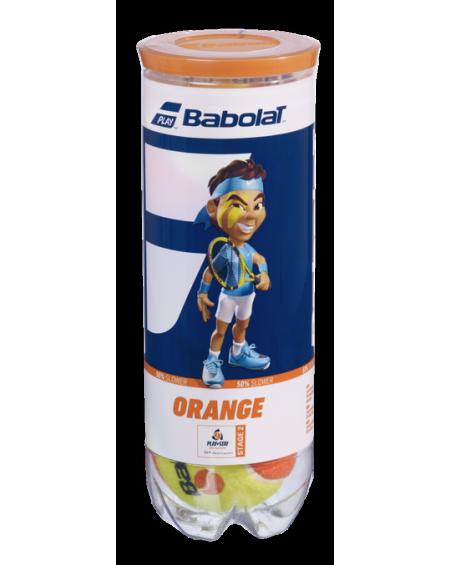 BABOLAT BALLES ORANGE ( x3 )