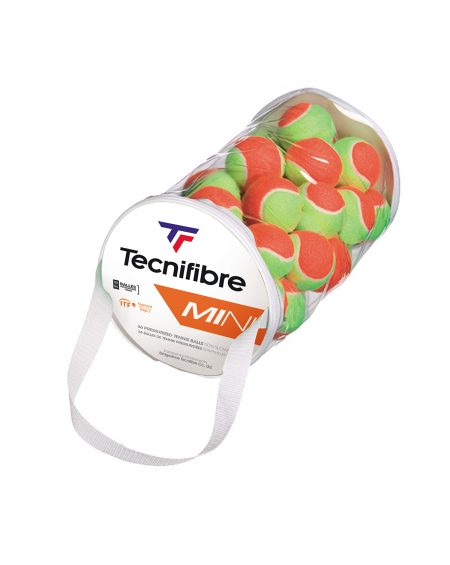 TECNIFIBRE BALLES ORANGE MINI TENNIS ( x40 )