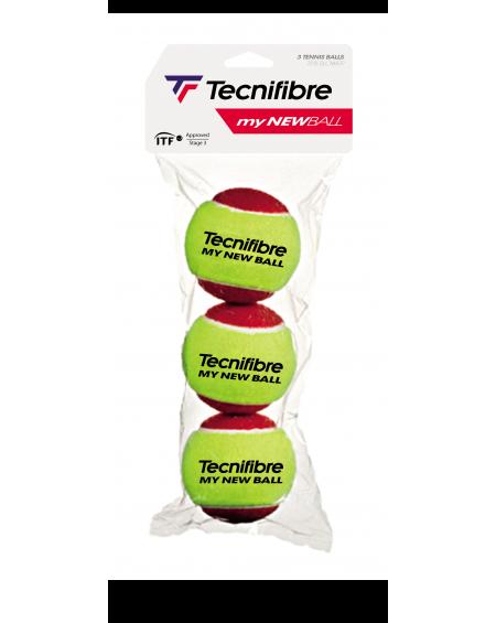 TECNIFIBRE BALLES MY NEW BALL ( x3 )