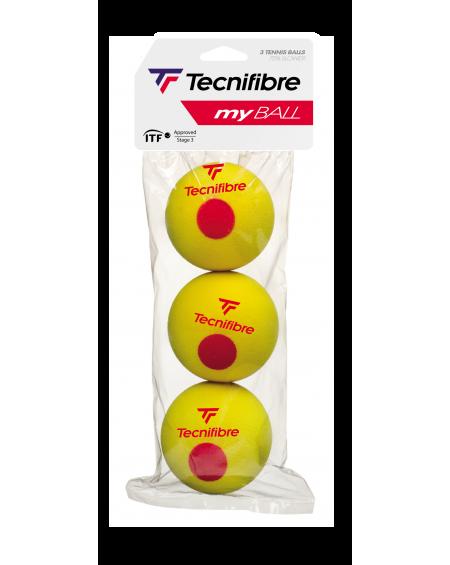 TECNIFIBRE BALLES MY BALL ( x3 )